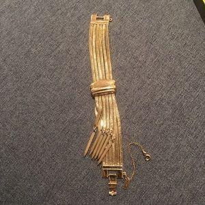 Monet gold bracelet